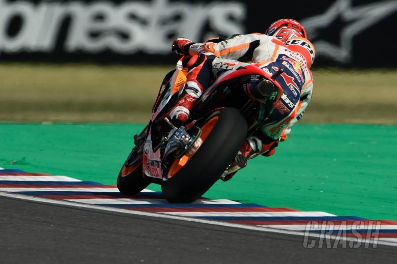 Marquez fastest, Dovizioso last in FP2