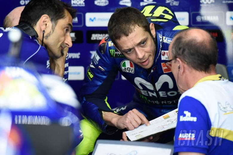 MotoGP: Rossi in 'crisis' after two laps