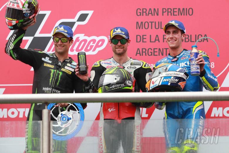 MotoGP: Crutchlow wins crazy Argentina GP - Marquez, Rossi clash!