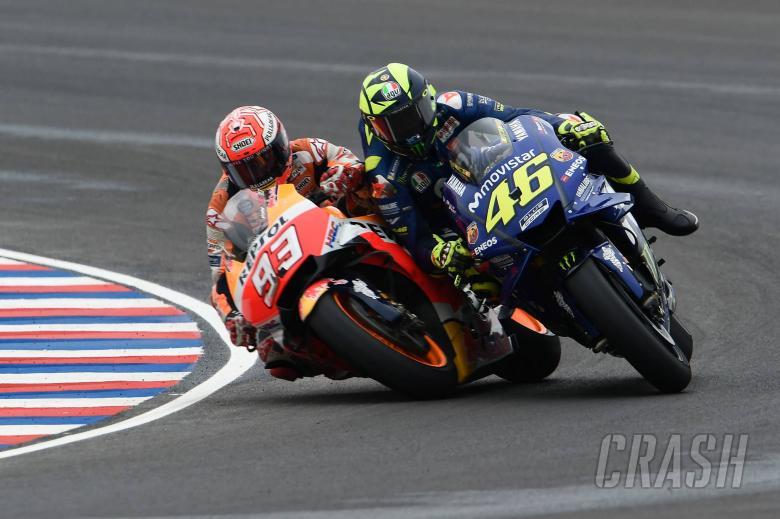 MotoGP: PICTURES and VIDEO: Marquez, Rossi clash in Argentina