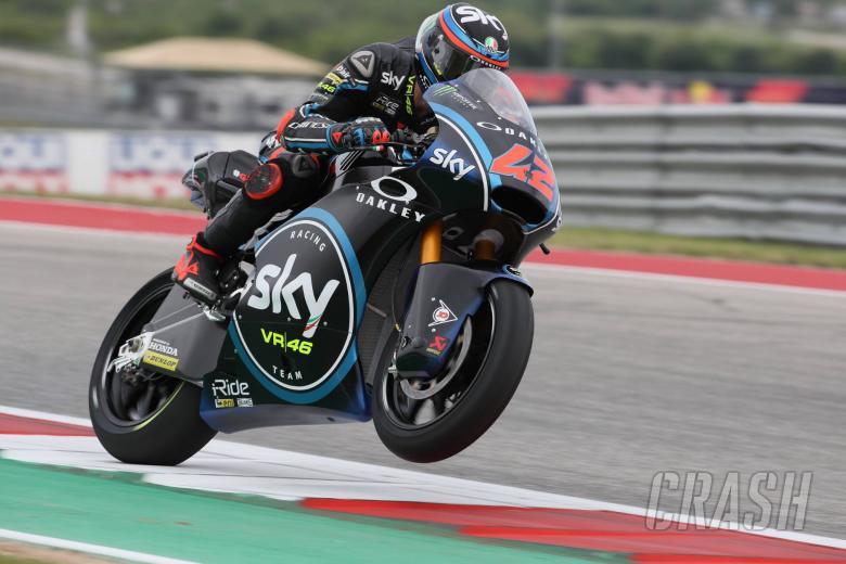 MotoGP: Moto2 Americas: Bagnaia blasts away for Texas triumph
