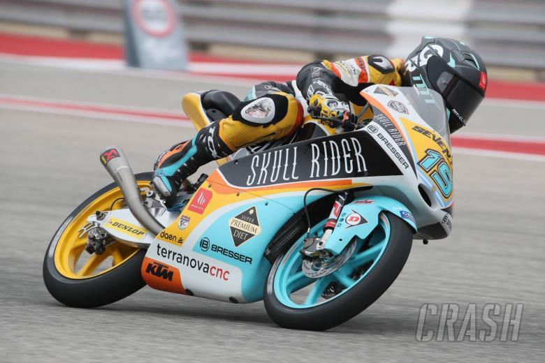 MotoGP: Moto3 Americas - Warm-up Results
