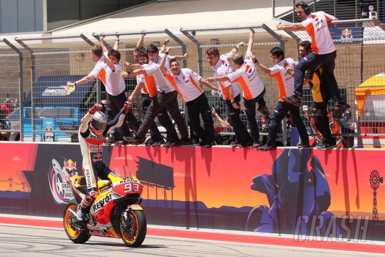 MotoGP: Perfect Marquez hits COTA for six!