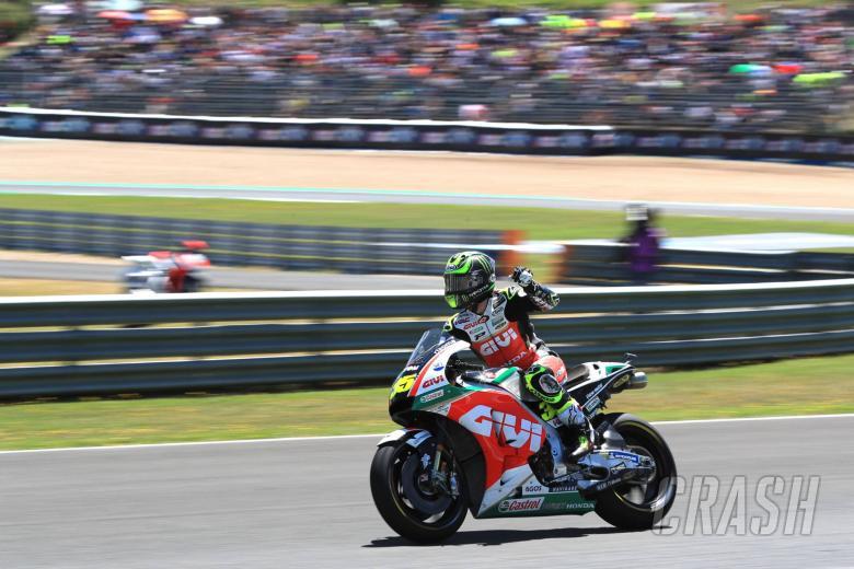 MotoGP: Crutchlow scorches to Jerez pole