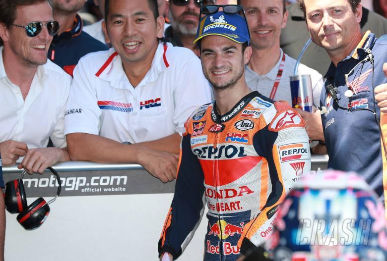 MotoGP: Pedrosa: Rhythm key, not worried about wrist