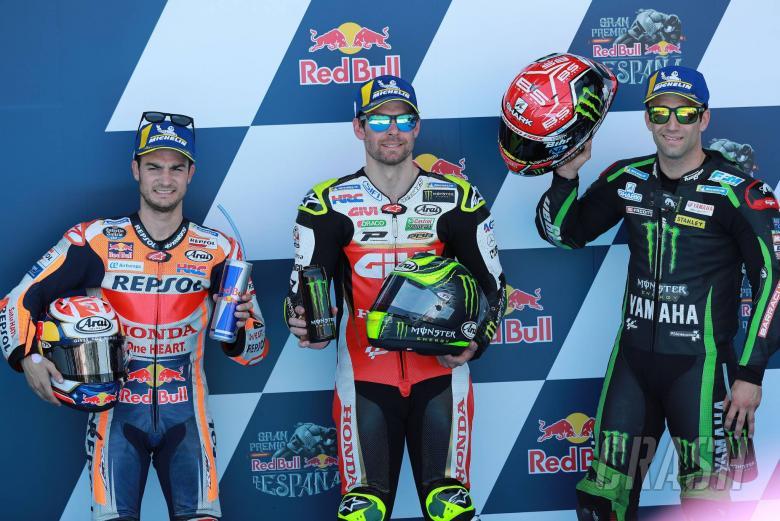 MotoGP: Crutchlow relishes pole position after frustrations