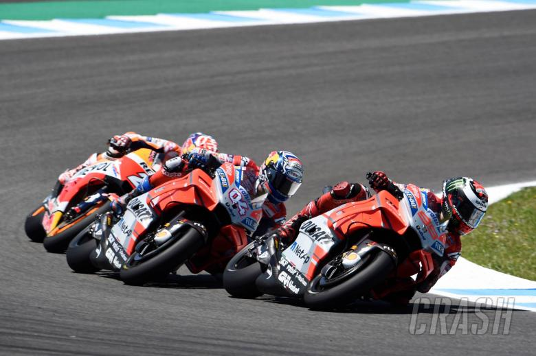 MotoGP: Chain Reaction: Lorenzo, Pedrosa, Dovizioso skittled in Spain