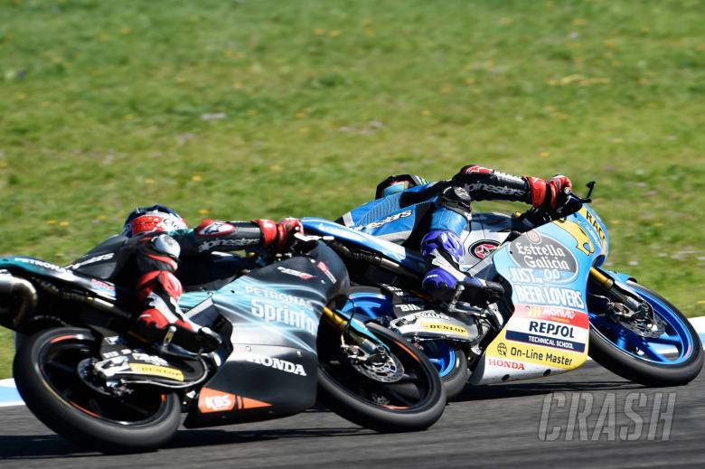 MotoGP: Jerez Moto3 test times - Wednesday (Session 1)