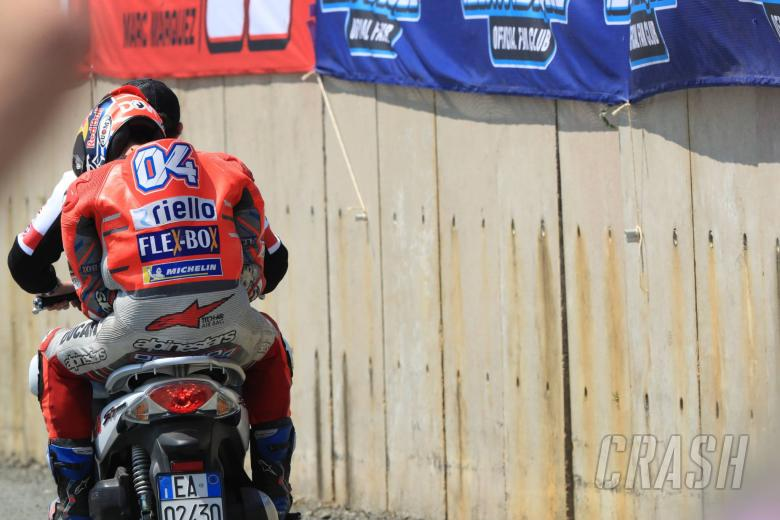 MotoGP: Dovizioso 'disappointed, able to fight with Marc'