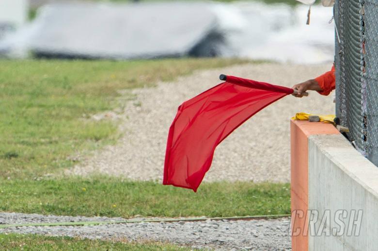 MotoGP: Valencia MotoGP race red-flagged in heavy rain