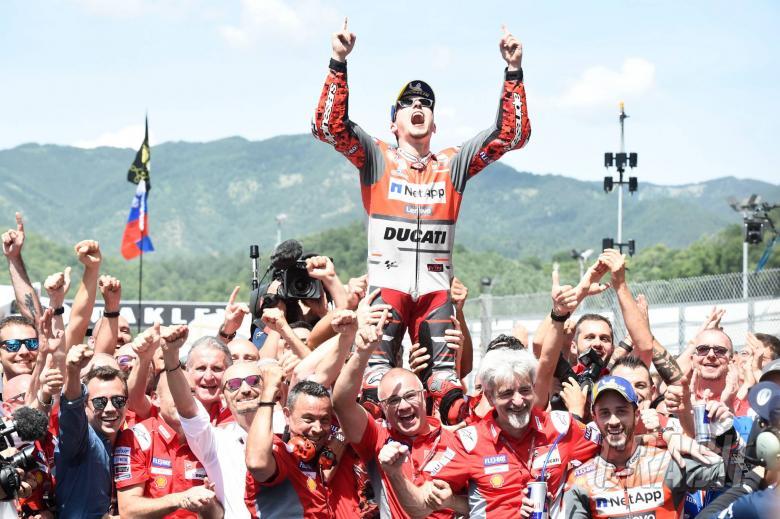 MotoGP: Lorenzo: First Ducati win silences critics but exit looms