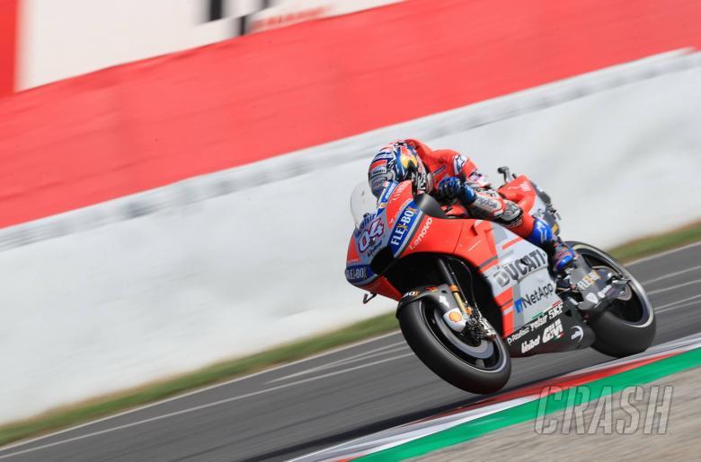 MotoGP: Dovizioso fastest, Rabat surprises in warm-up