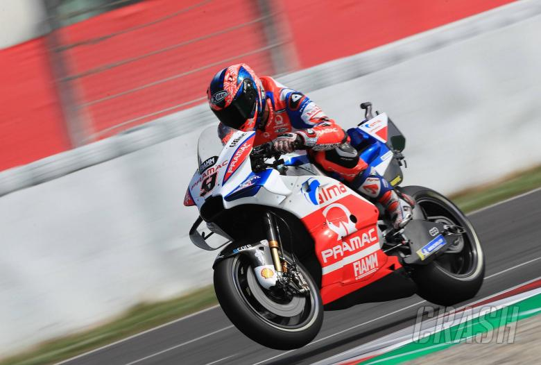MotoGP: Petrucci: New exhaust, gearbox, chassis, swingarm!