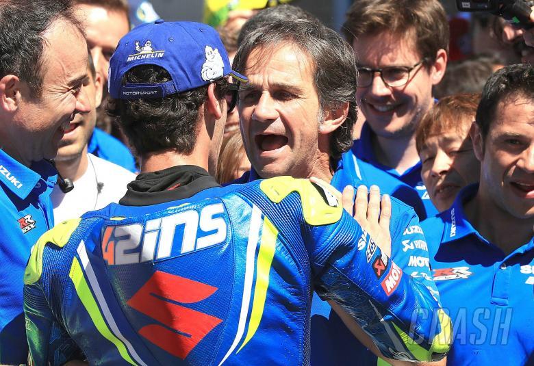 MotoGP: Rins 'absolutely' ready to lead Suzuki development