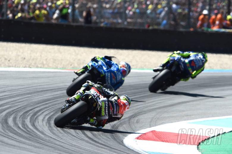 MotoGP: Crutchlow unable to pass, podium slips away