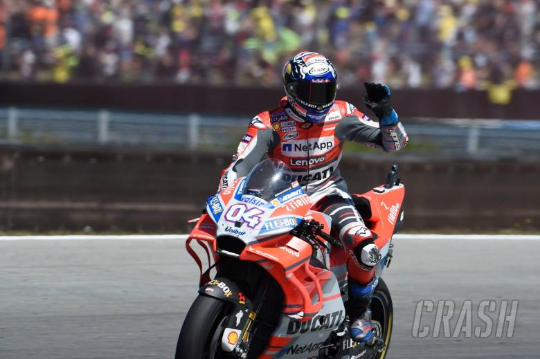 MotoGP: Dovizioso searching for late-race traction