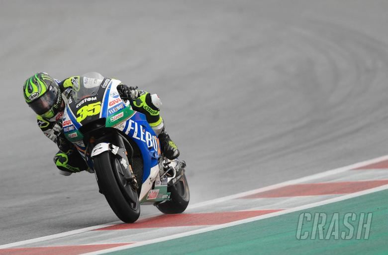 MotoGP: Crutchlow 'better than I thought' in treacherous wet conditions