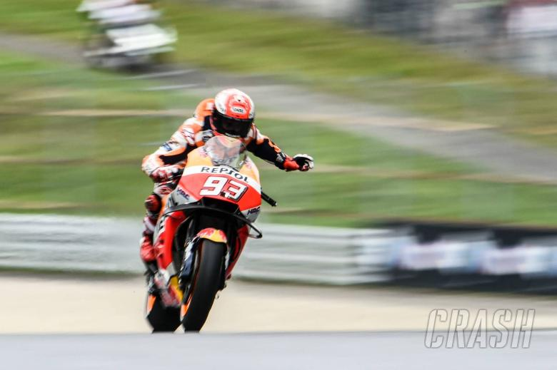 MotoGP: Marquez: Silverstone weather 'another opponent'