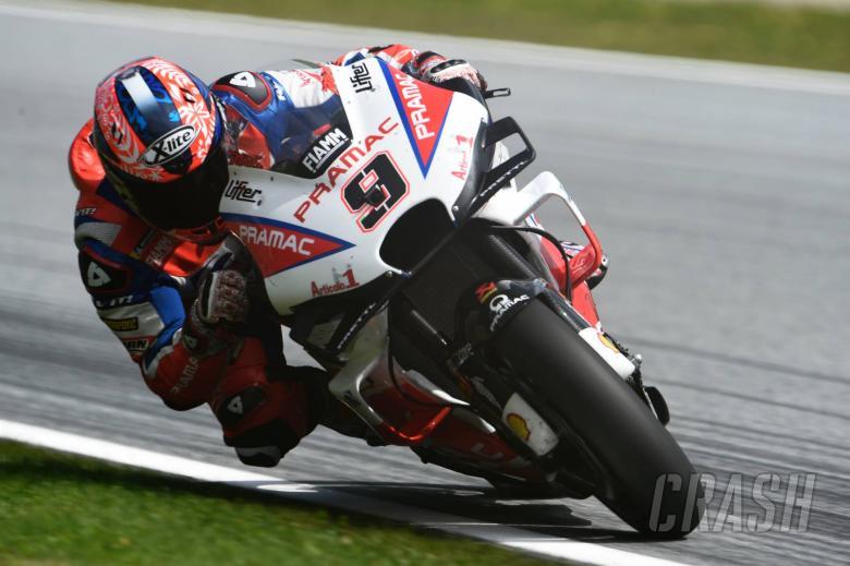MotoGP: Petrucci: Last ten laps a nightmare