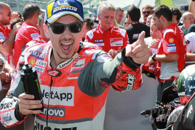 Jorge Lorenzo mengungkapkan negosiasi Ducati untuk MotoGP 2021 sedang berlangsung