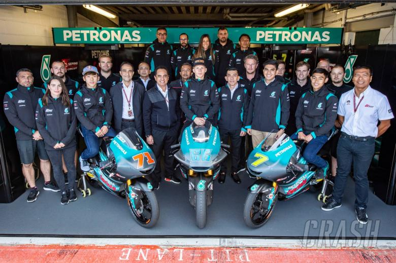 Morbidelli, Quartararo revealed in Petronas Yamaha presentation