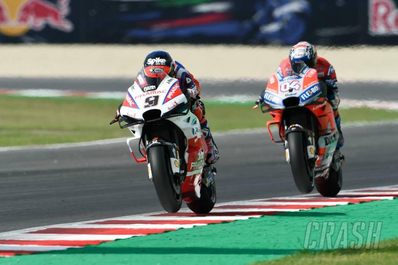Petrucci: 70% riding style, 30% weight