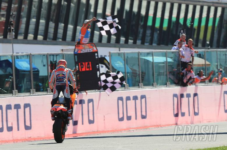 MotoGP: Marquez: Taking podium means not being pushed into mistakes
