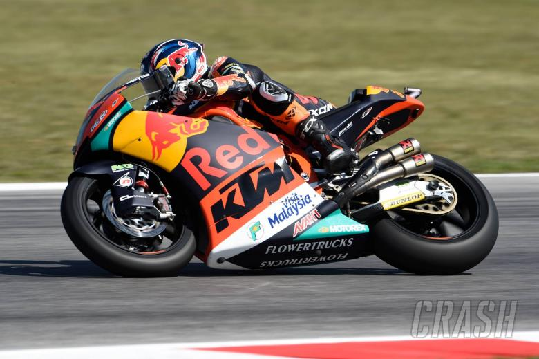 MotoGP: Moto2 Aragon: Surprise pole for Binder, title rivals off the pace