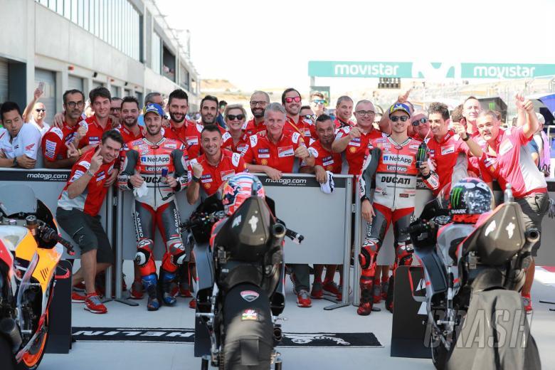 MotoGP: Dovizioso 'proud' to be at start of Ducati revival