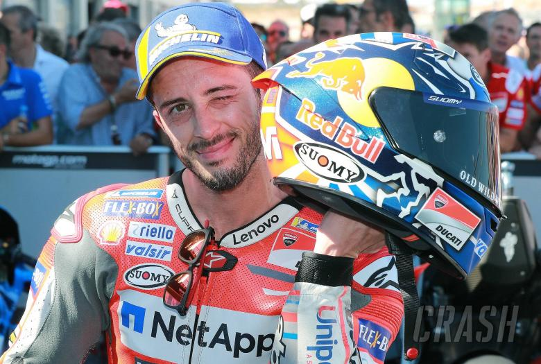 Dovizioso: I couldn't really fight with Marc