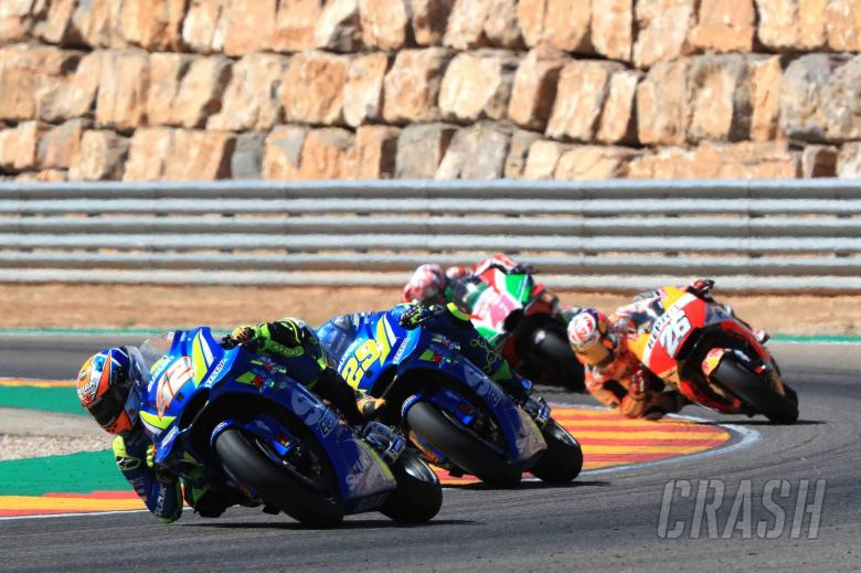 MotoGP: Rins 'passes expectations' with fighting fourth