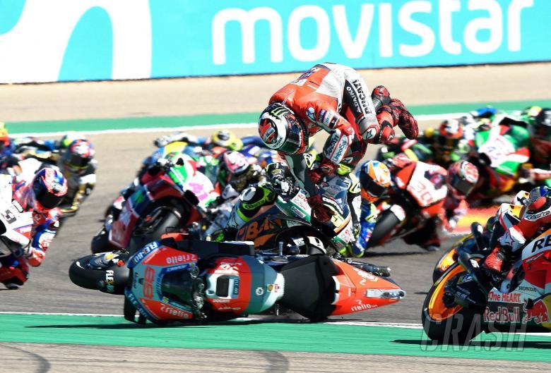 MotoGP: Lorenzo: 'Marc destroyed my race, my foot' - UPDATED