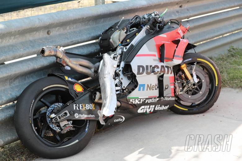 MotoGP: 'No fractures' for Lorenzo after Buriram highside
