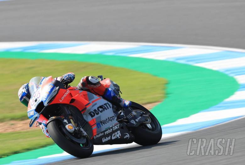 Motogp Dovizioso Tops Fp3 Marquez Crashes Into Q1 News Crash
