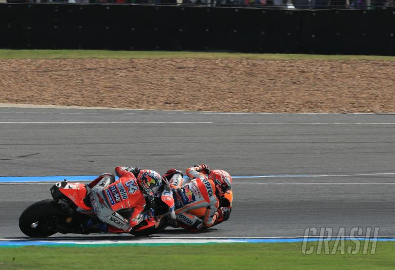 MotoGP: Marquez outwits Dovizioso for Thailand glory