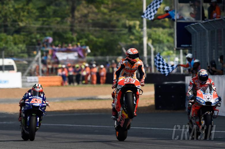 MotoGP: Marquez: Finally, we beat Dovi on the last lap!
