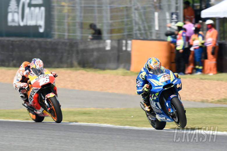 MotoGP: Rins 'on the limit' in 'great race'