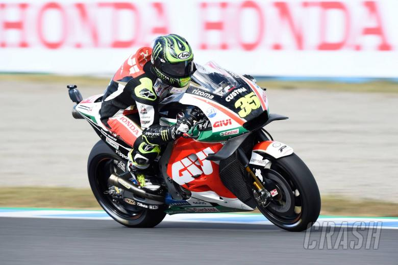 MotoGP: Crutchlow 'pretty disappointed' to miss front row