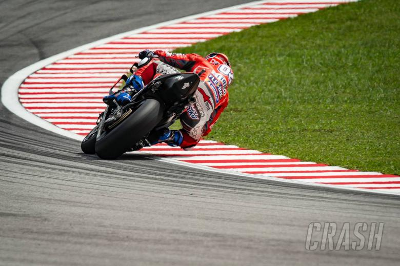 MotoGP: Dovizioso content with 'really good speed'