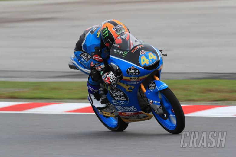 MotoGP: Moto3 Malaysia - Warm-up Results