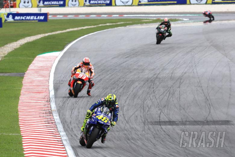 Marquez: Rossi and I both on the limit
