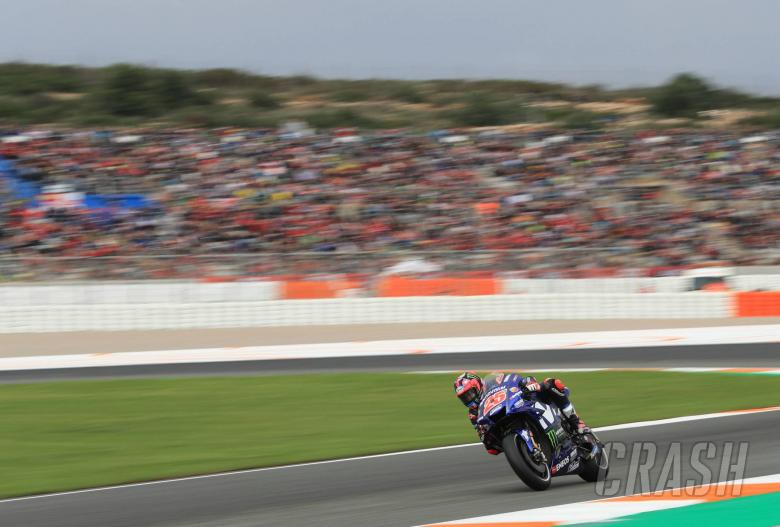 MotoGP: Vinales storms through Q1 to pole position in Valencia