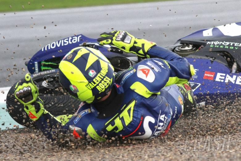 MotoGP: Rossi on Valencia crash: A s**t emotion