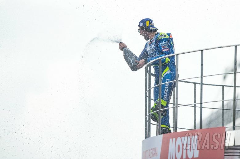 MotoGP: Rins: First MotoGP win, more Suzuki power targets before title