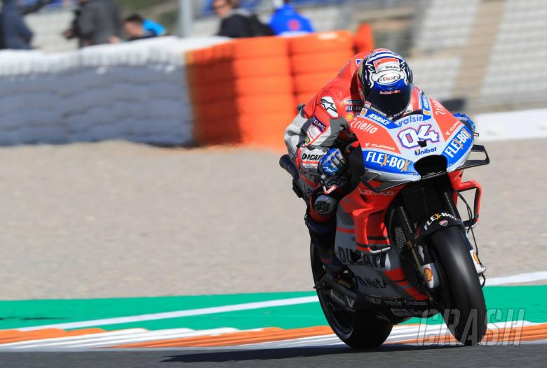 MotoGP: Valencia MotoGP test times - Wednesday (4pm)