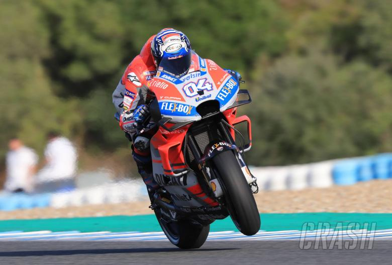 MotoGP: Dovizioso: No confirmation but pace really good