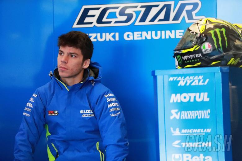 MotoGP: Mir bounces back from red flag crash