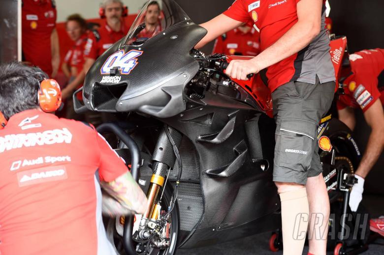 MotoGP: PICS: Ducati unveils 'six wing' fairing at Sepang