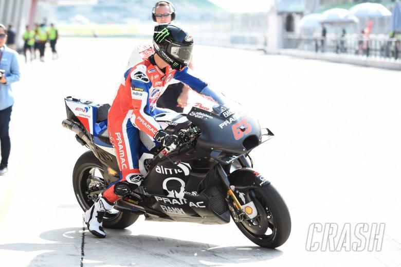 MotoGP: '65%' Bagnaia stuns with second at Sepang