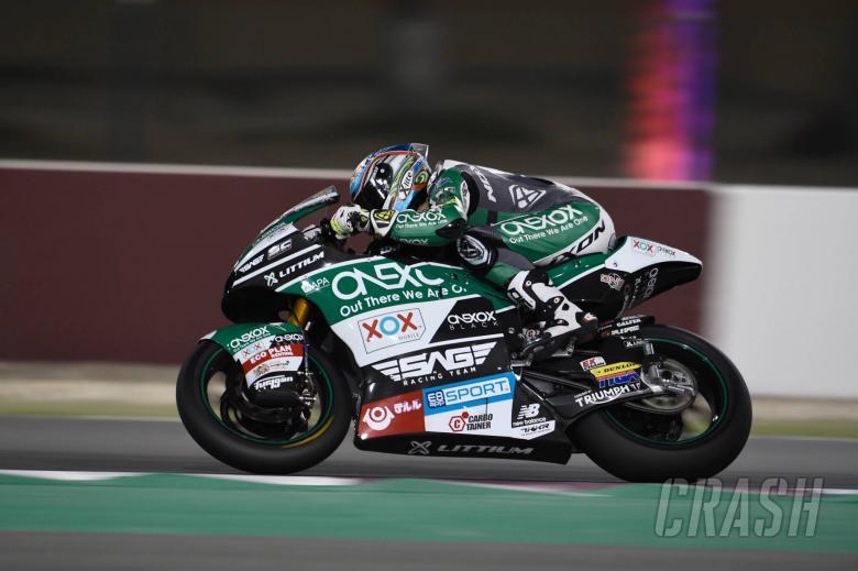 MotoGP: Qatar Moto2 test times - Saturday (Session 1)